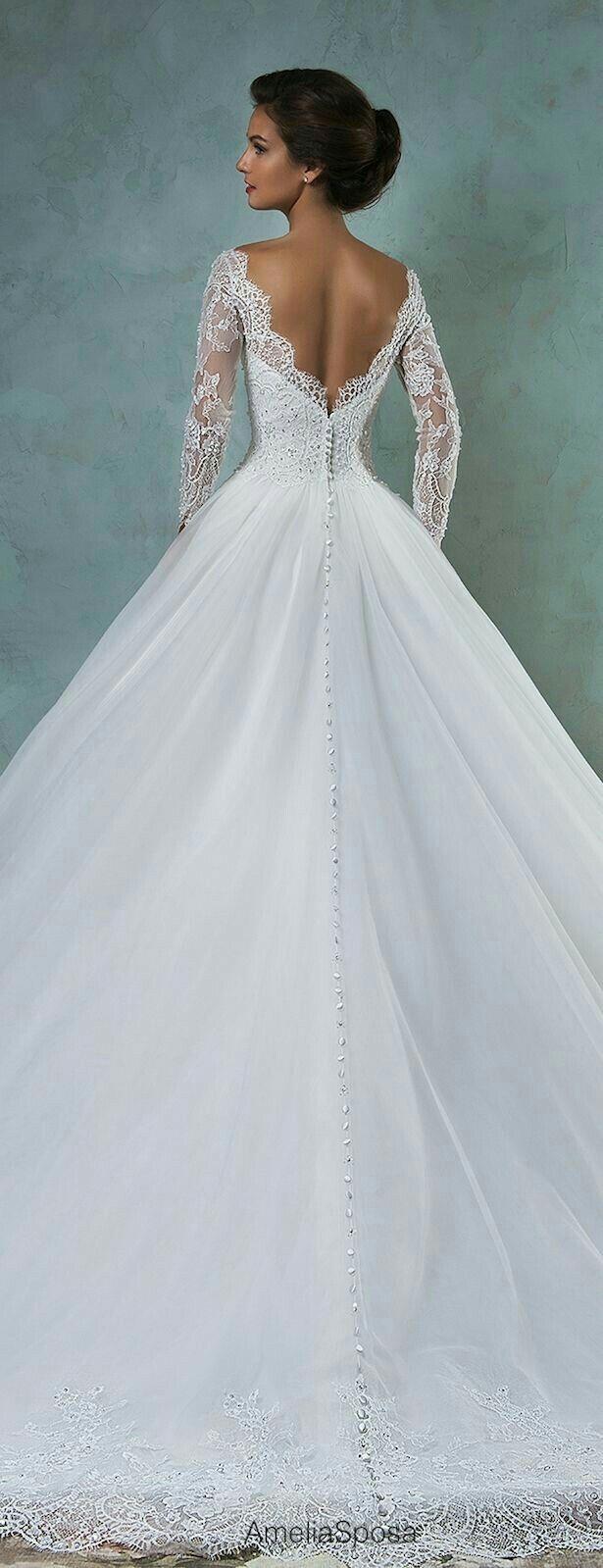 Pin de Beautylove10 en mode | Pinterest | Vestidos de novia, De ...