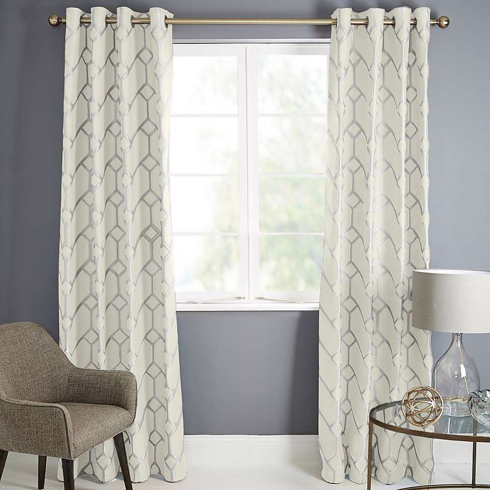 37+ Grey living room curtains dunelm info