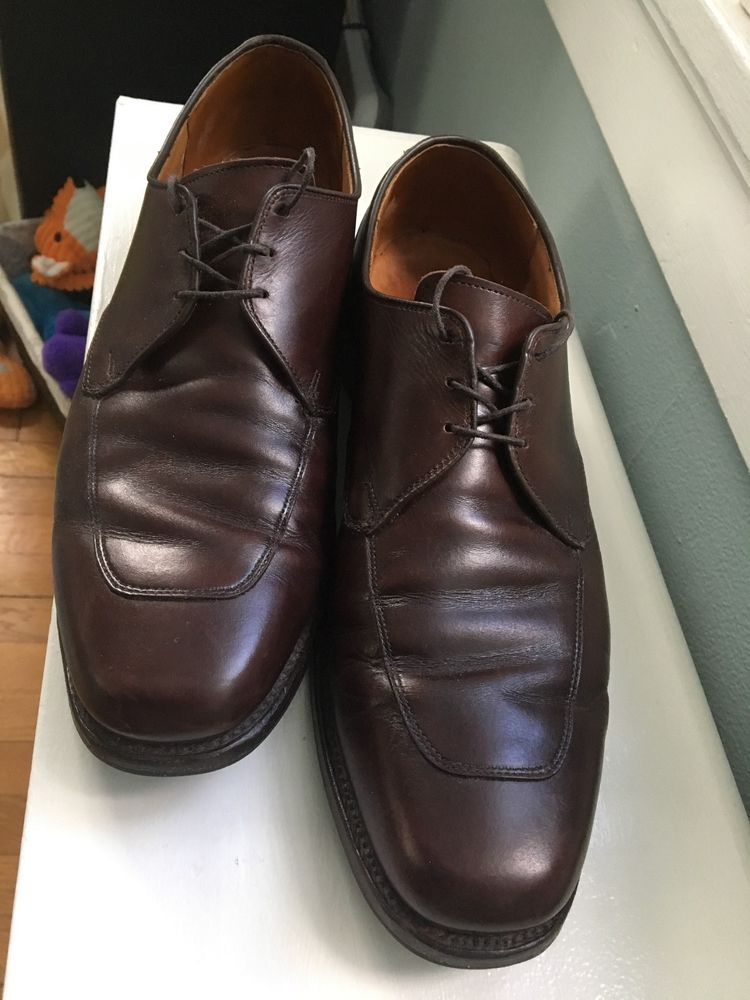 d372bce53960e3 Men s ALLEN EDMONDS Burton Oxford Dress Shoes 11.5 B NARROW Brown Leather   fashion  clothing  shoes  accessories  mensshoes  dressshoes (ebay link)