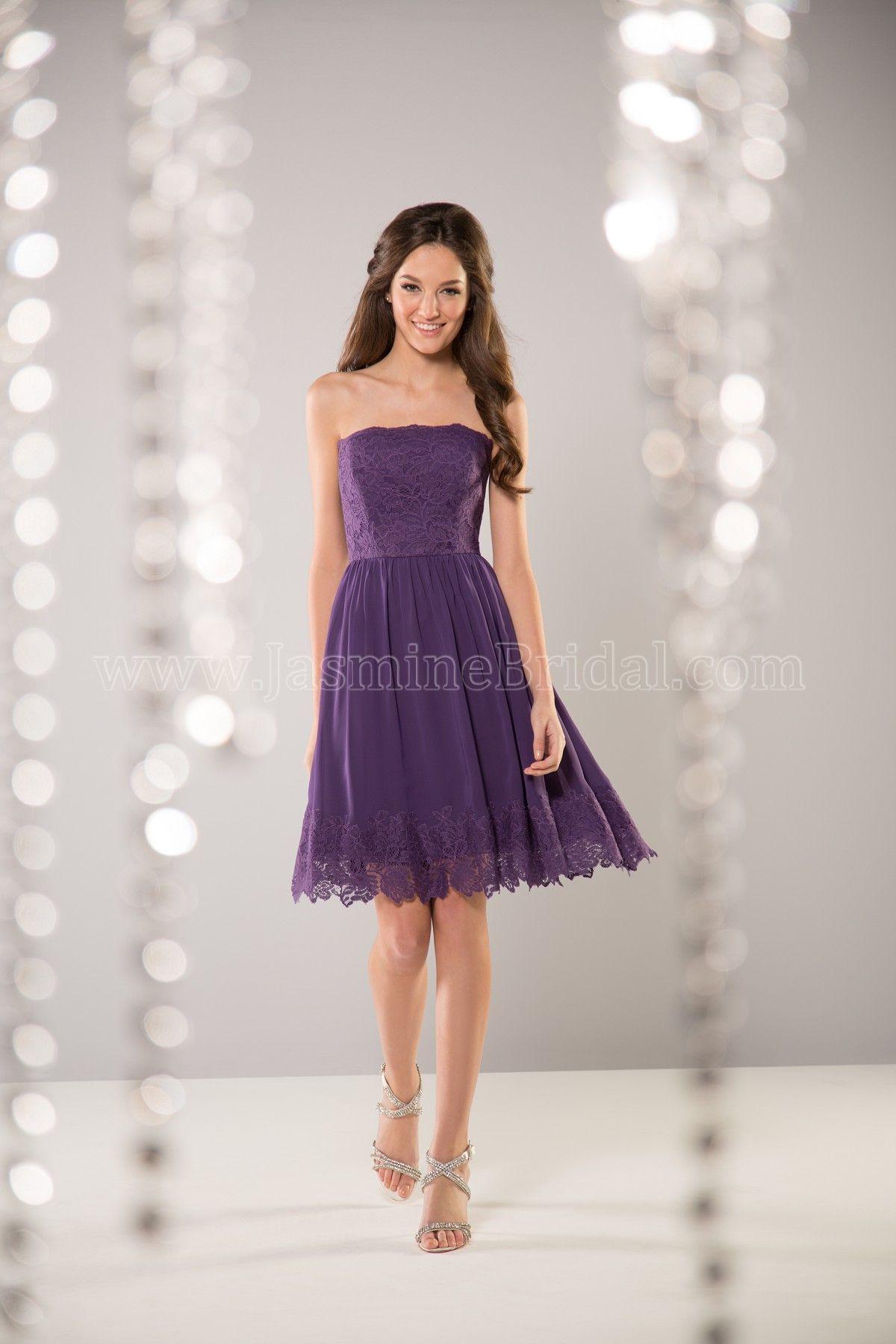 Jasmine Bridal in Cayman Blue | Bridesmaids | Pinterest