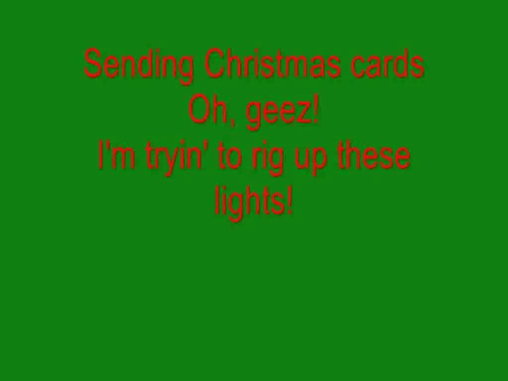 bob rivers 12 pains of christmas with lyrics