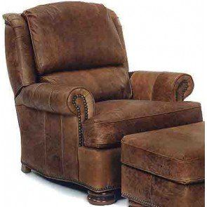 Bradington Young Chippendale Reclining Wing Chair BY 4114