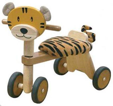 Ride On Wooden Tiger Toy Juegos Pinterest Juguetes De Madera