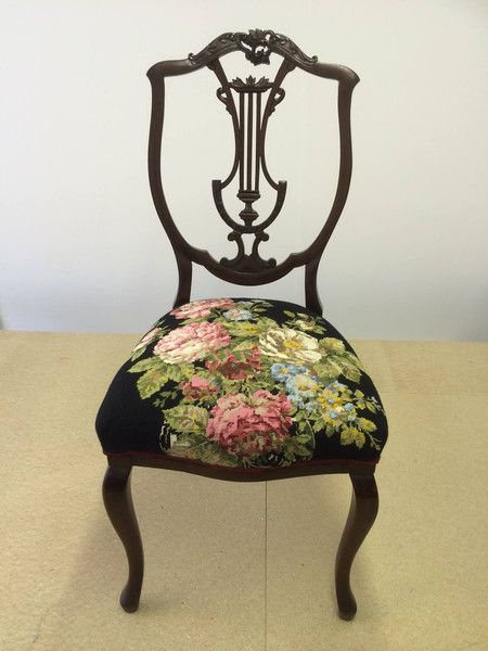 vintage tapestry eclectic chair upholstery menagerie more