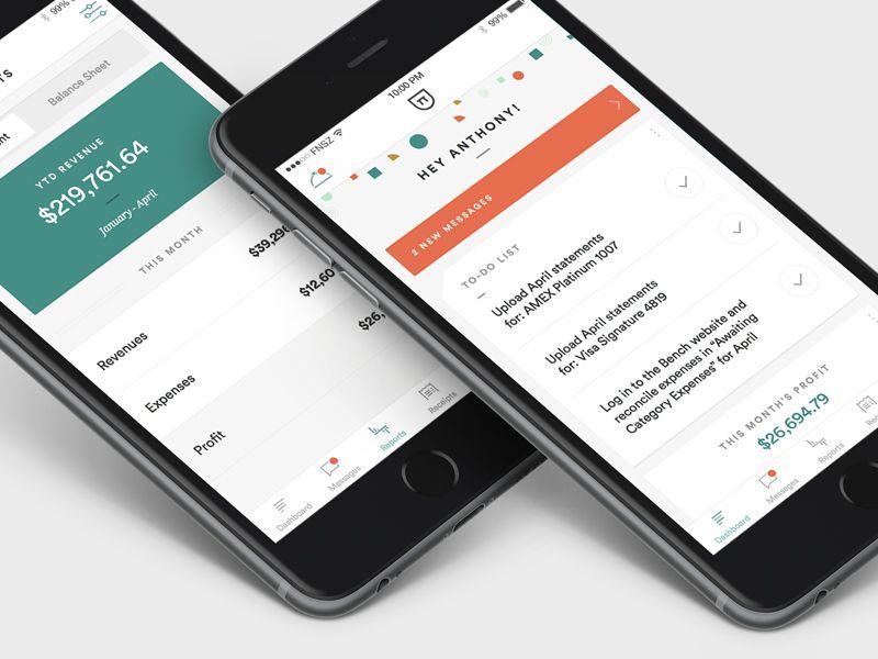 Bookkeeping iPhone App Iphone, App, Satellite phone