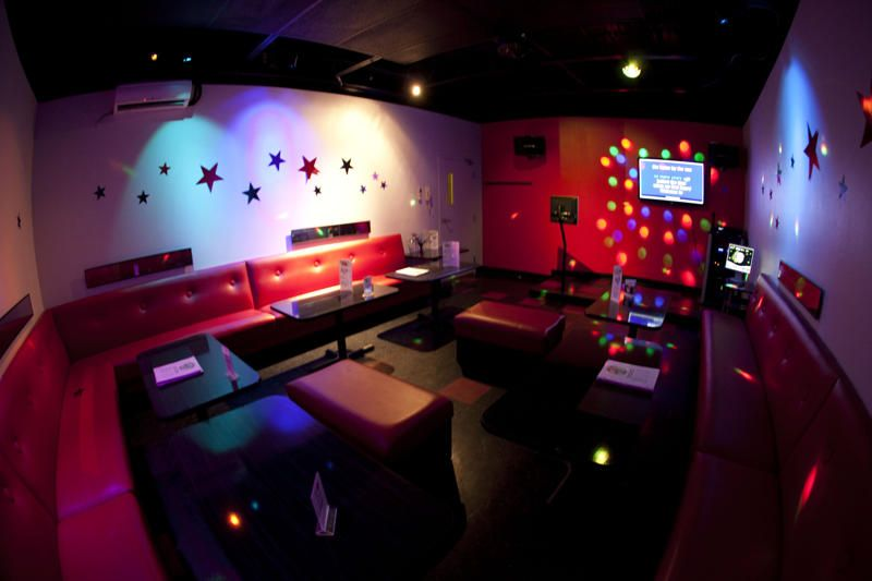 home disco karaoke kids room | the ruby room our largest private ...
