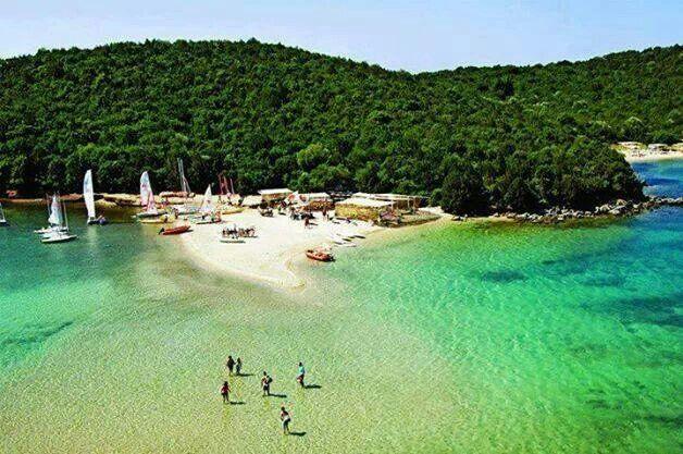Beach in Sivota Epirus, Greece