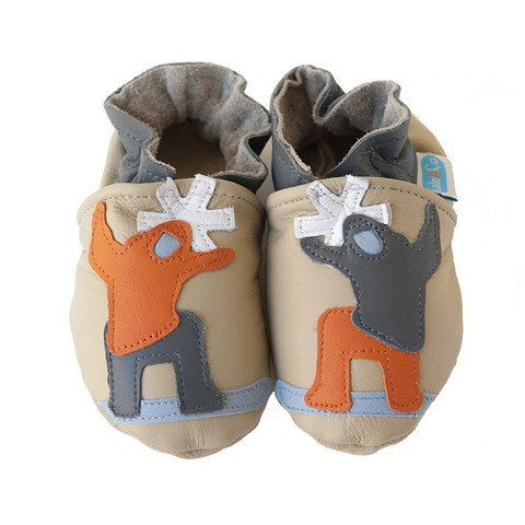 Slopestyle baby shoes in allnatural sandcolored by cadeandco, $34.00