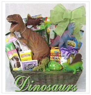 Dinosaur Themed Easter Basket