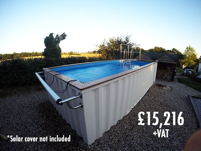 20 Foot Container Swimming Pools Outdoor Pools Container Pools Above Ground Swimming Pools