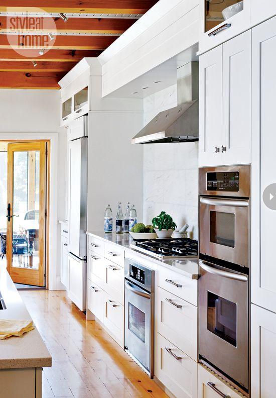 Interior Quaint Modern Farmhouse  Galley Kitchens Kitchen Awesome Kitchen Accessories Design Ideas