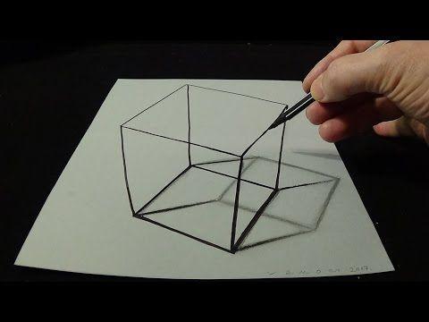 Dibujo 3d Agujero Para Niños Cómo Dibujar 3d Circular Hole Arte