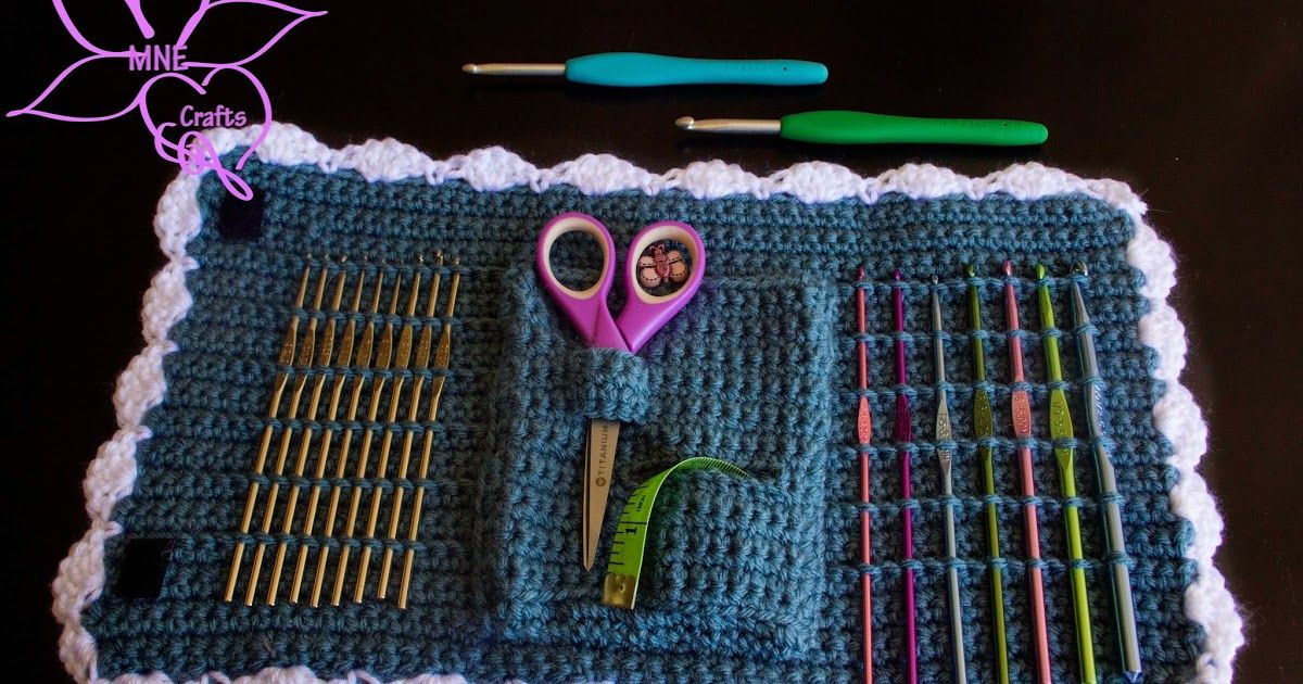 (click to enlarge)       This week's random pattern find has quite the story behind it. See, I did this pattern: Crochet Hook Case  (ca...