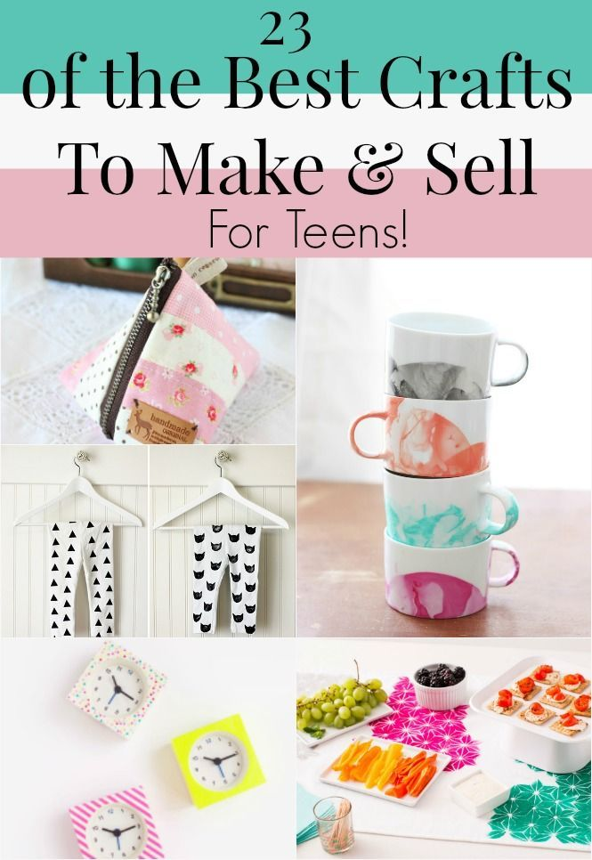 23 of the Best Crafts To Make and Sell for Teens #craftstomakeandsell