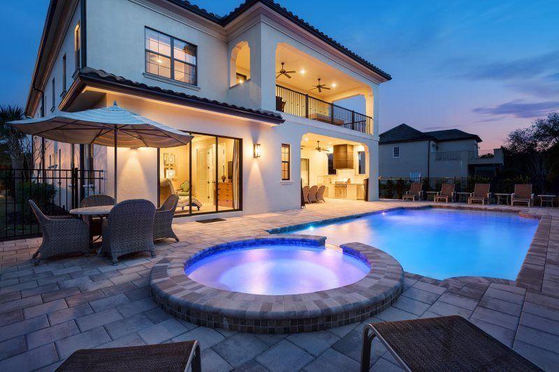 9 bedroom 9 bath orlando reunion rental luxury