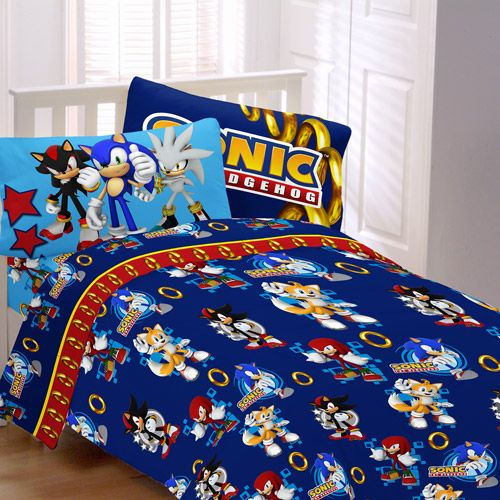 Sonic The Hedgehog Bed Spread Sd Child Sheet Set