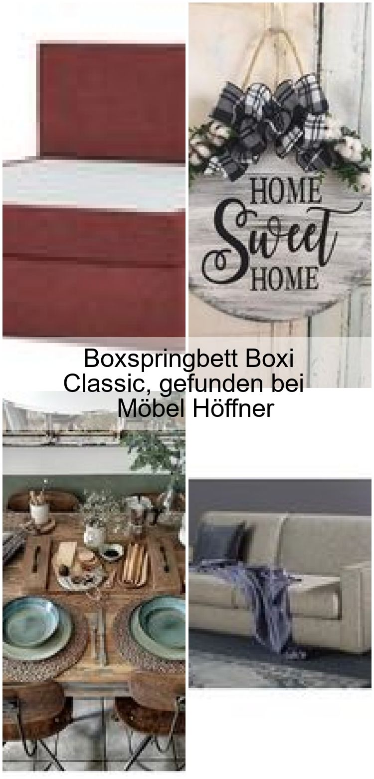 Boxspringbett Boxi Classic Gefunden Bei Mobel Hoffner Welcome To Blog In 2020 Farmhouse Decor Decor Home Decor