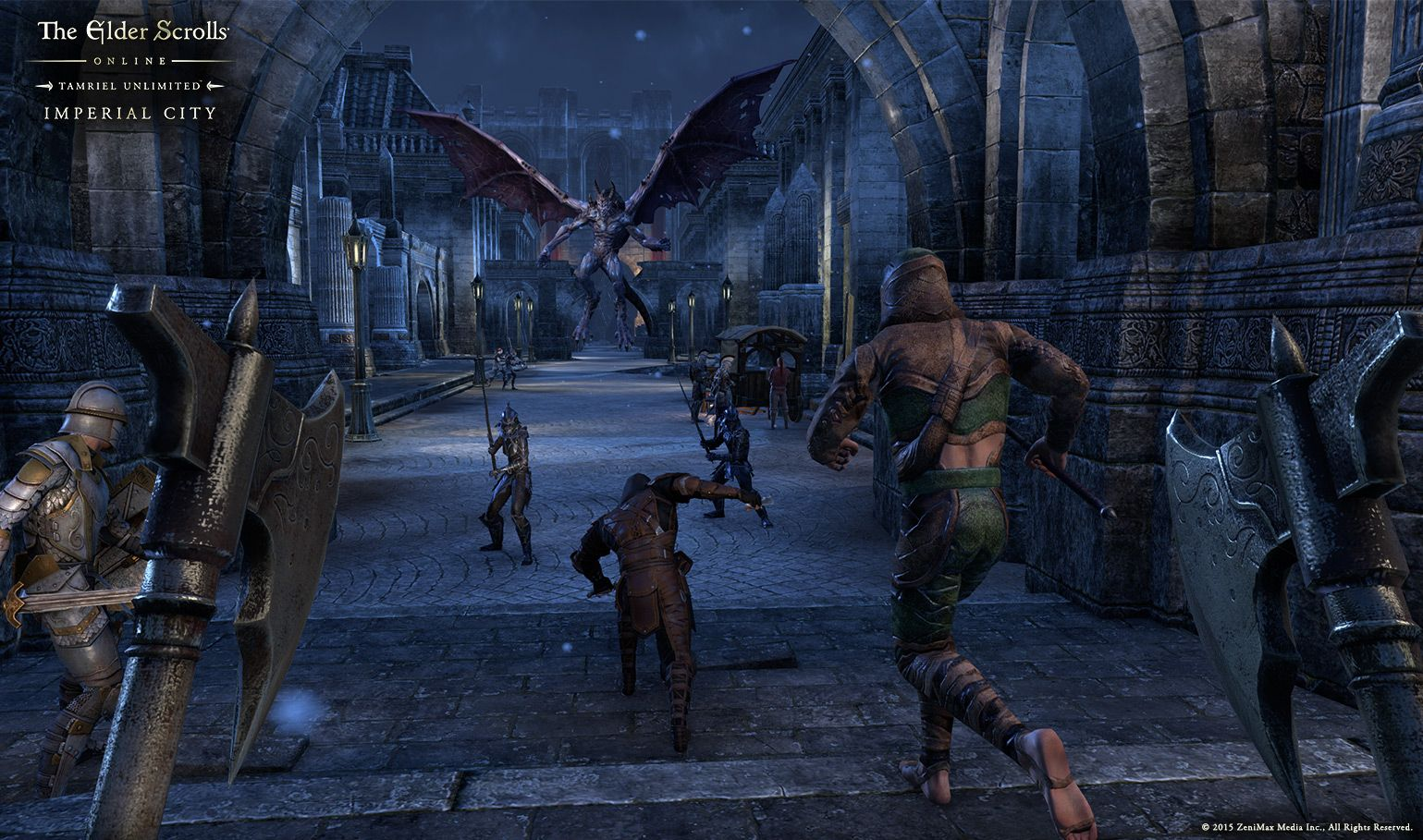 Watch Here S The Trailer For The Elder Scrolls Online S Newest
