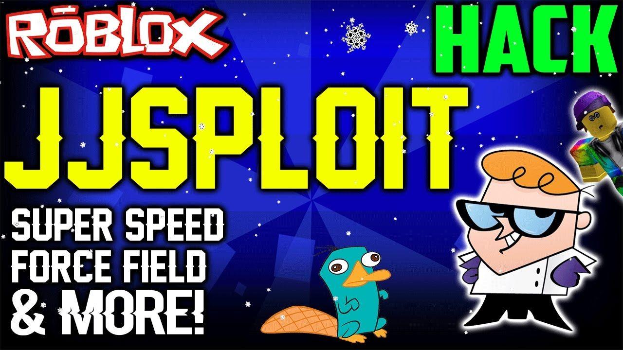 ROBLOX Exploit & Hack: JJSPLOIT (NEW) SUPER SPEED, FORCEFIELD & MORE