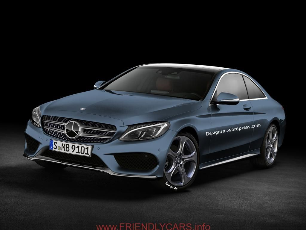 Nice 2015 mercedes c class coupe car images hd 2015 c class coupe gets better rendering