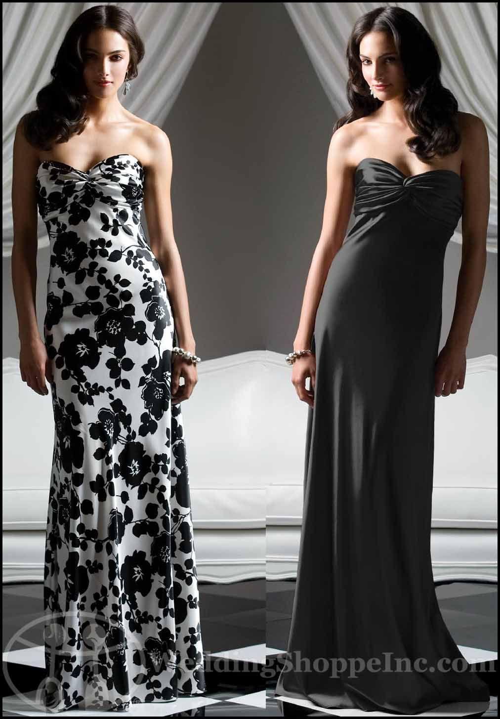 Black and white bridesmaid dresses dessy 2756left dress would black and white bridesmaid dresses dessy 2756left dress would be a ombrellifo Images