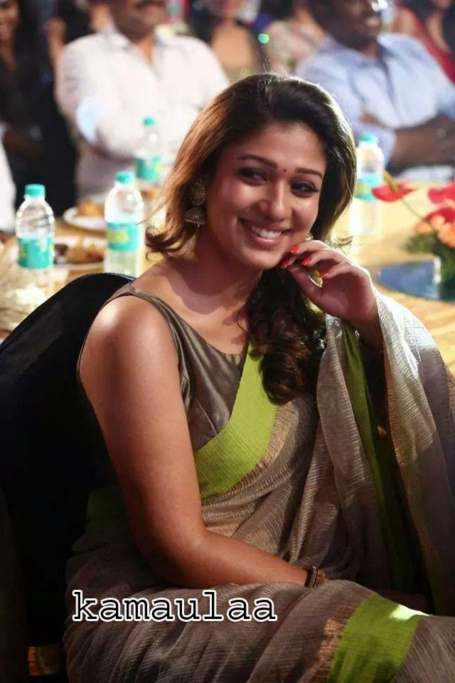 KAMA ULA: Actress Nayanthara unseen smile sari photo