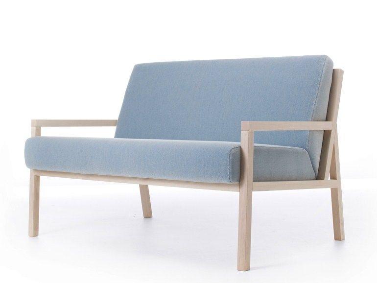 Divanetto.Divanetto In Tessuto Collezione Paris By Very Wood Design