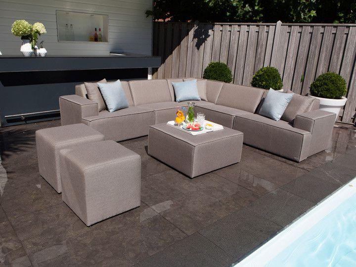 Gartensofa wetterfest  MONROE Modul Sofa für den Garten #garten #gartenmöbel #gartensofa ...