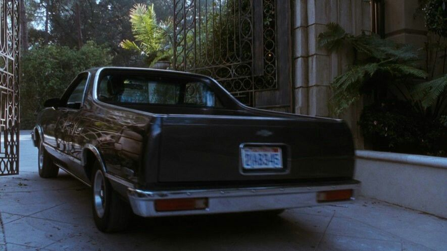 1982 El Camino Used In The Movie The Bodyguard By Kevin Costner