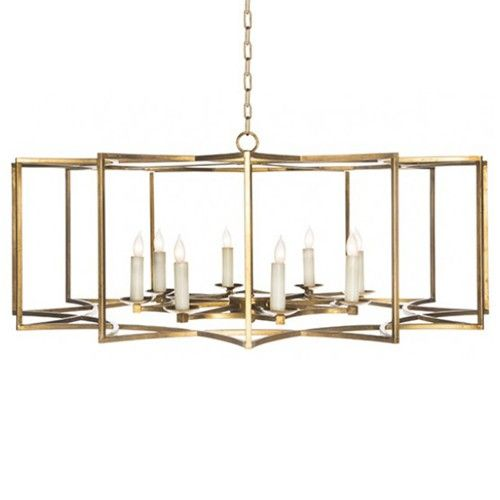 Aidan Gray Ag Hom Look 2 Chandelier Gold Large Chandeliers
