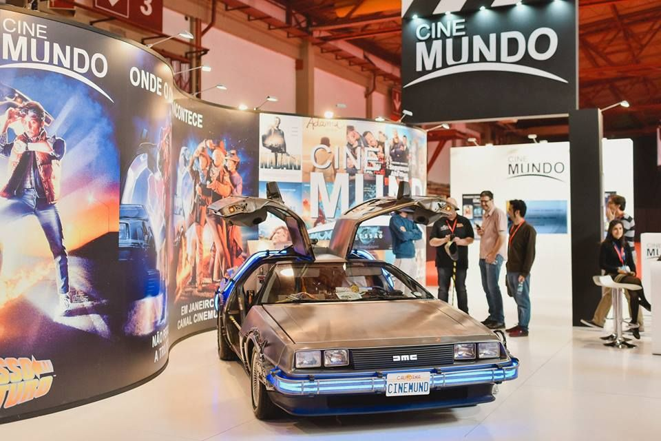 #comiccon #comicconportugal #porto #portugal #DeLorean #RegresoAlFuturo #BackToTheFuture