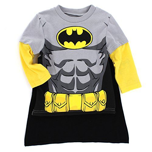 Big Boys/' Batman Bat Signal Blanket Sleeper Footed Pajamas with Cape