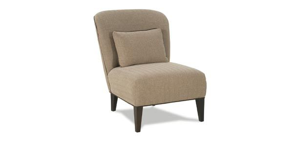 This Rowe Chair Armless Chair Is Available In Any Fabric