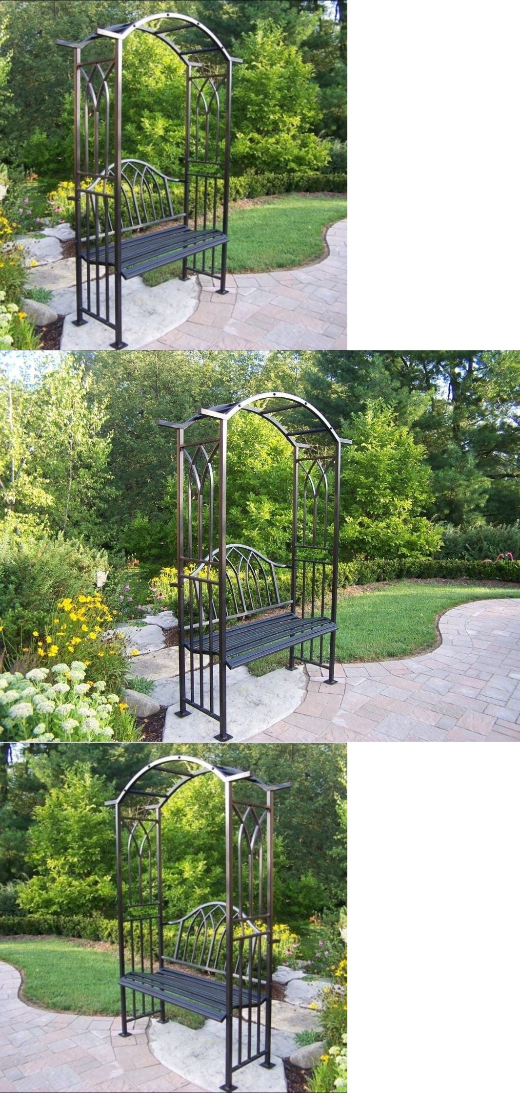Arbors and Arches 180993: Garden Arches And Arbors Trellis Bench ...