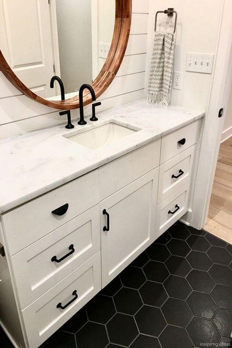 75+ Amazing Modern Farmhouse Bathroom Vanity Ideas