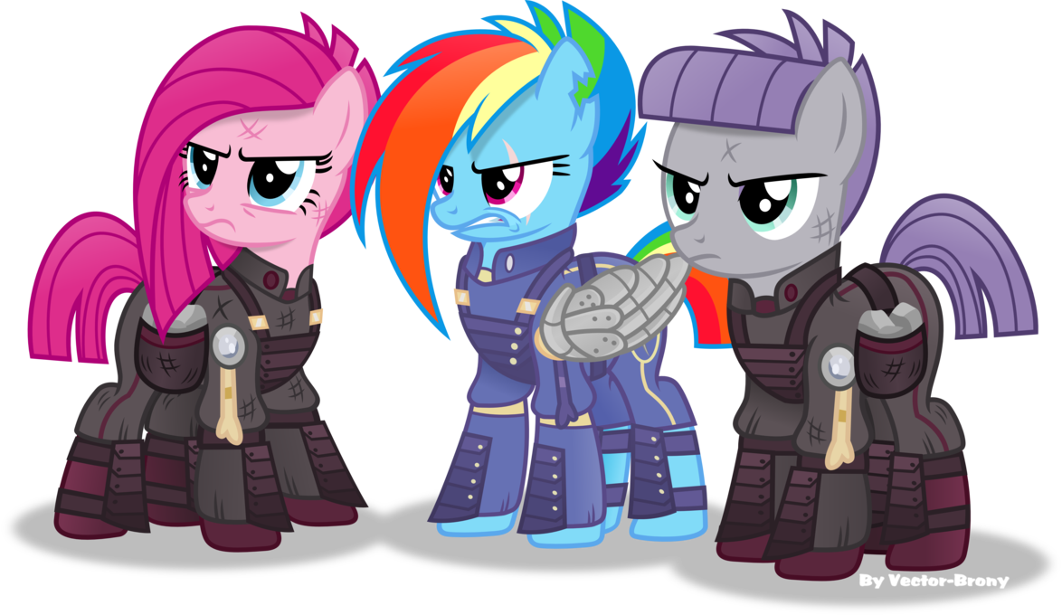 Crystal War Dash Pinkie And Maud By Vector Brony On Deviantart