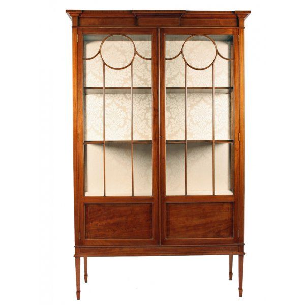 Miscellaneous Sold Archive Edwardian Mahogany Display Cabinet