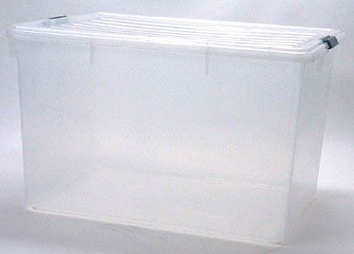 Clear Plastic Storage Box Set Of 3 By Iris 126 These Are