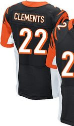 4432a50f2 $78.00--Nate Clements Jersey - Elite Black Home Nike Stitched Cincinnati  Bengals #22 Jersey,Free Shipping! Buy it now:click on the picture, than  click on