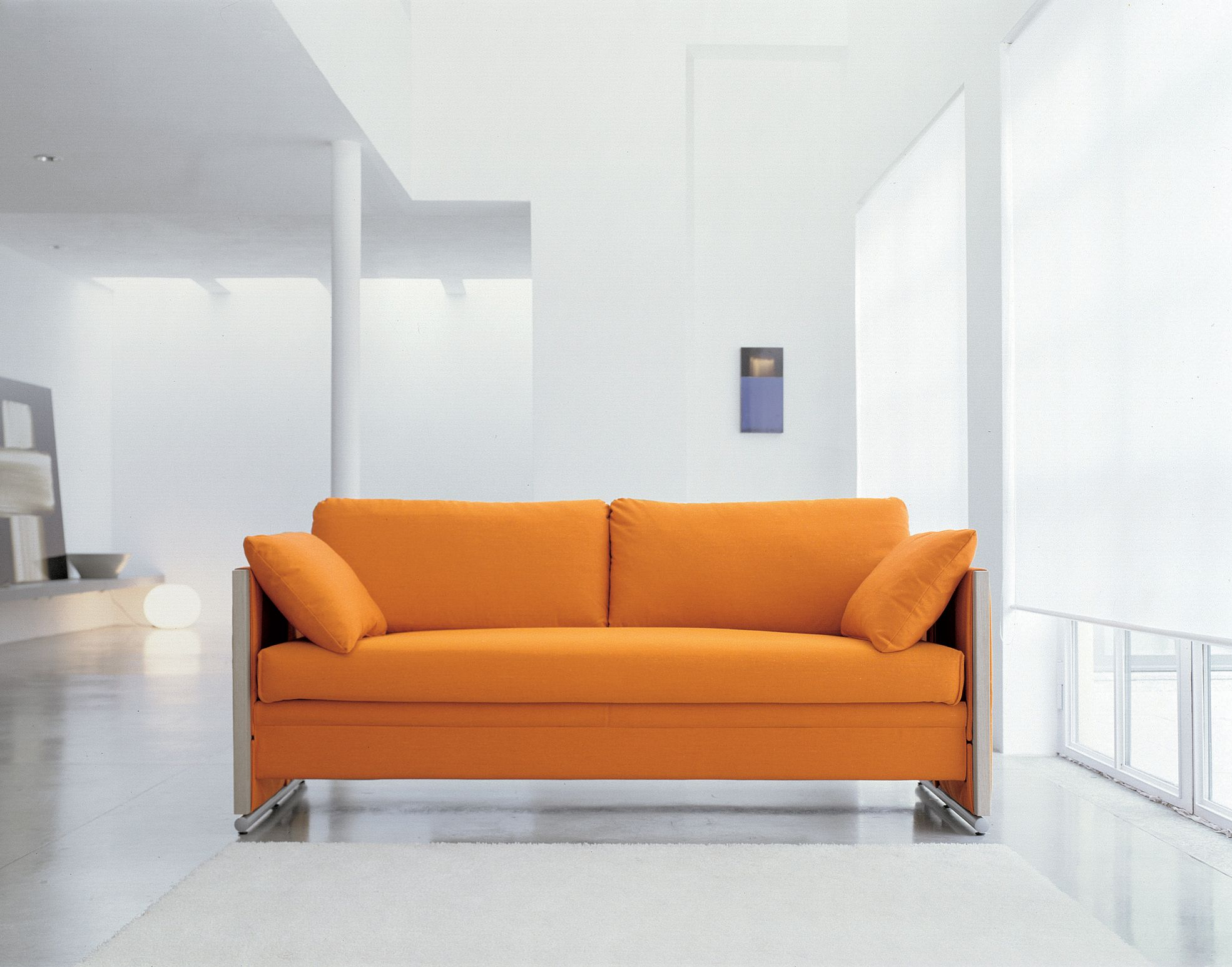 Bettsofa Orange Couch Colour Style I E No Buttons Etc Great Room Dining