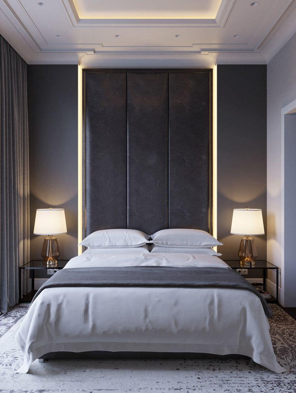 Camere Da Letto Moderne Con Led.100 Idee Camere Da Letto Moderne Stile E Design Per Un