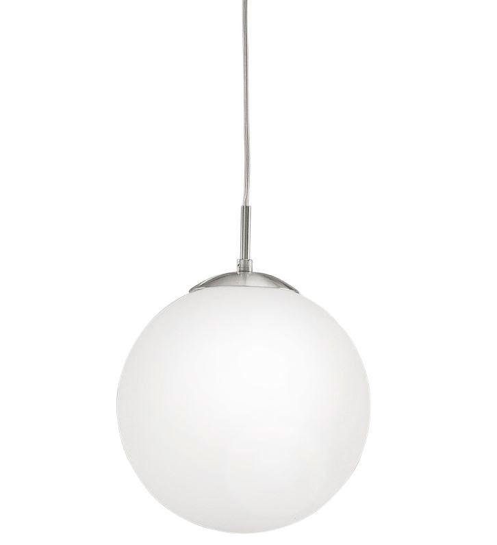 Lámpara Colgante Cristal Techo 30cm Ópalo de Globo cj5ARL43q