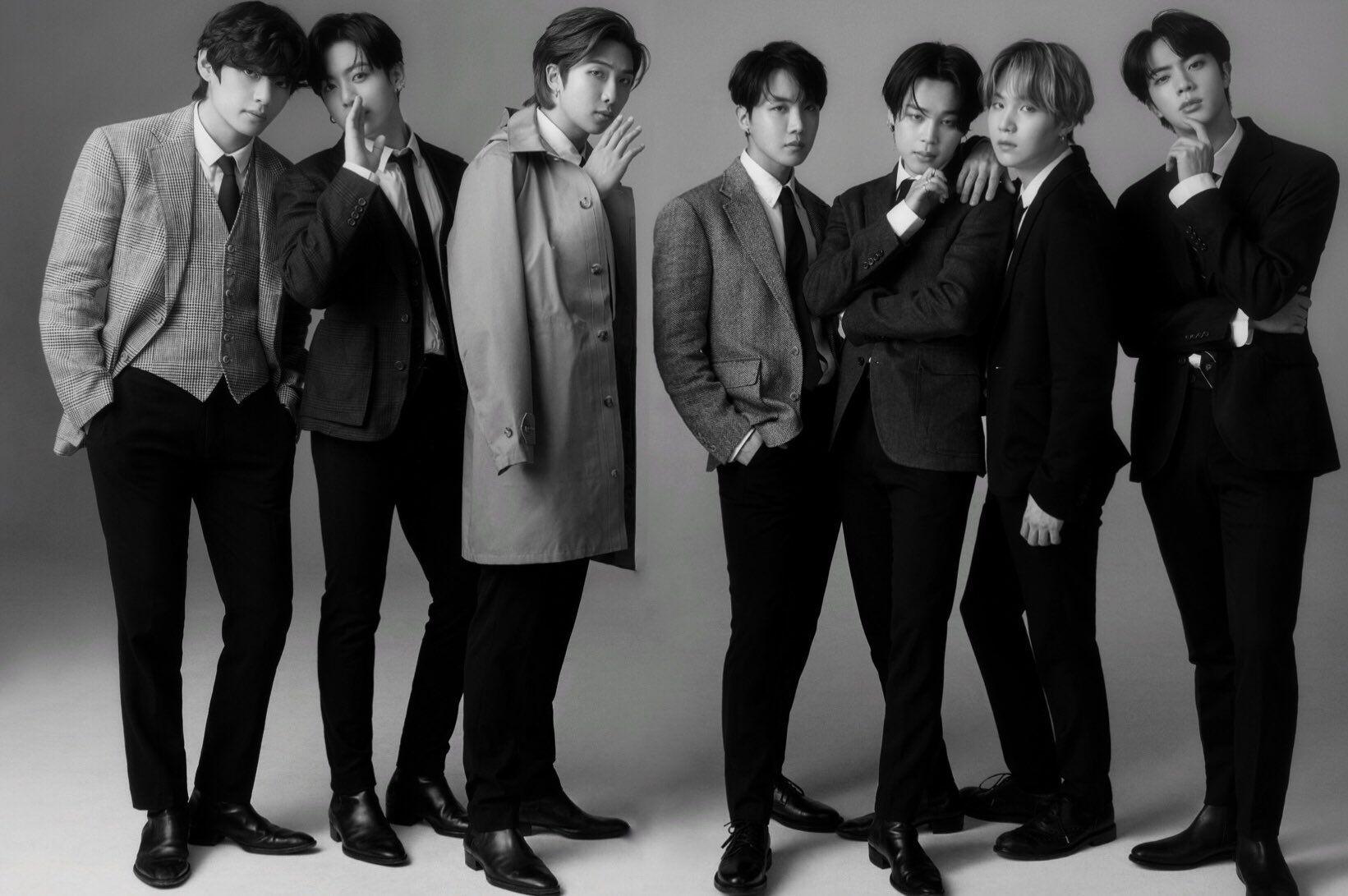 BTS for GQ Japan Magazine!