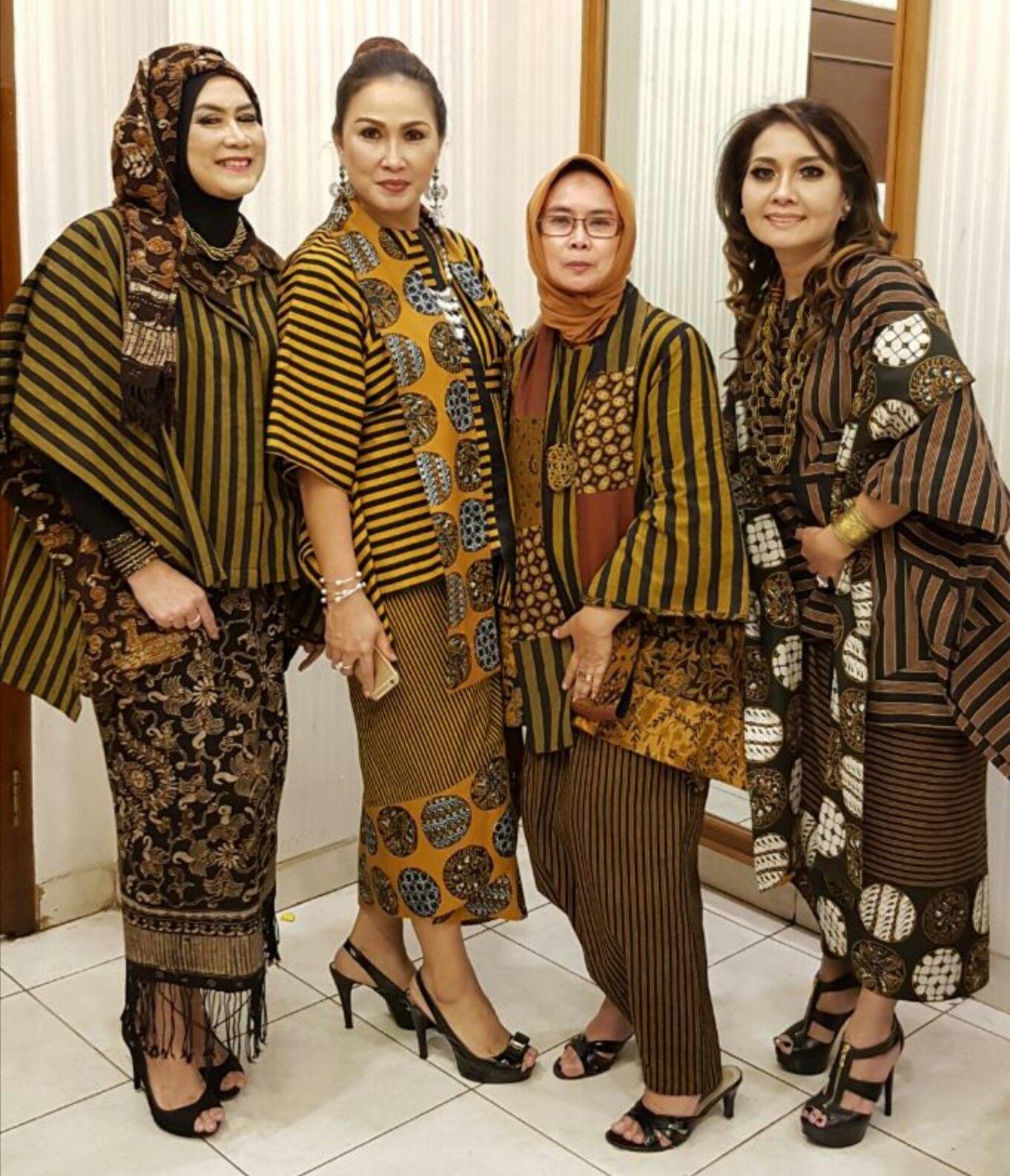 Fashion Model Baju Batik Modern di 2020 | Pakaian wanita ...