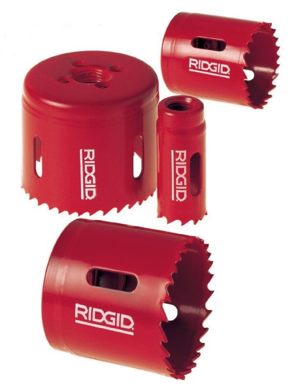 Ridgid 81495 Model 1249 Electricians Hole Saw Kit Includes 7 8