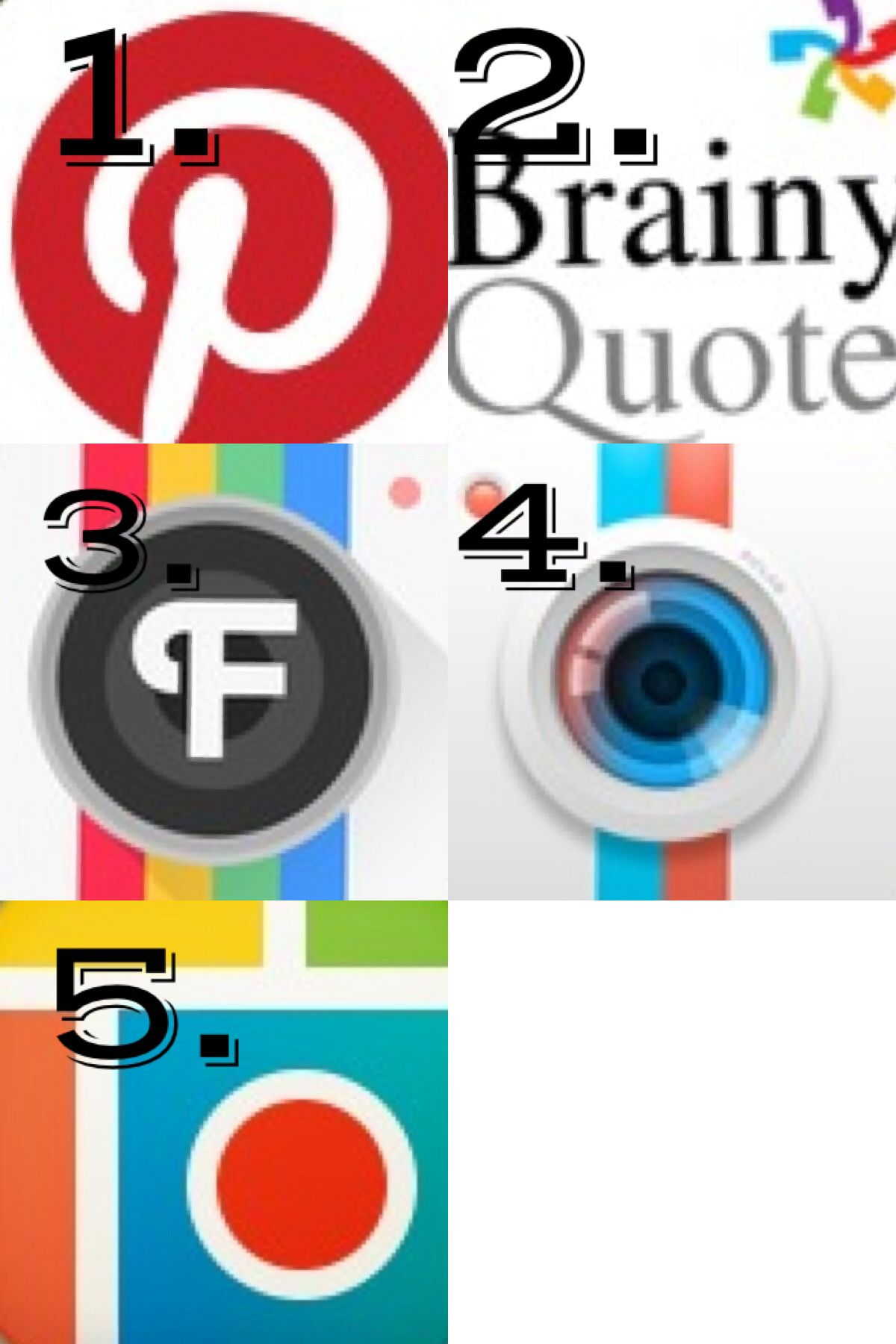These are the apps I use to make my edits! And they are
