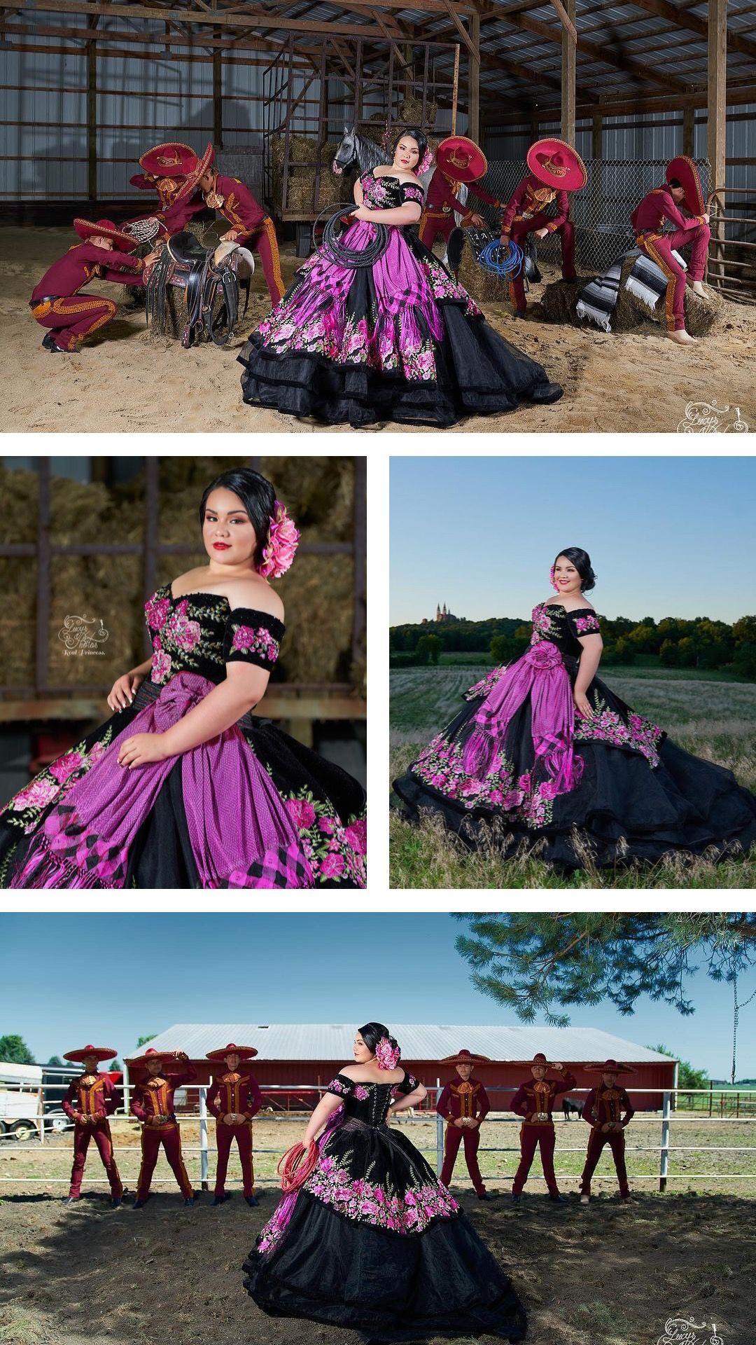 Floral Charro Quincea 241 Era Dress By Ragazza In 2019
