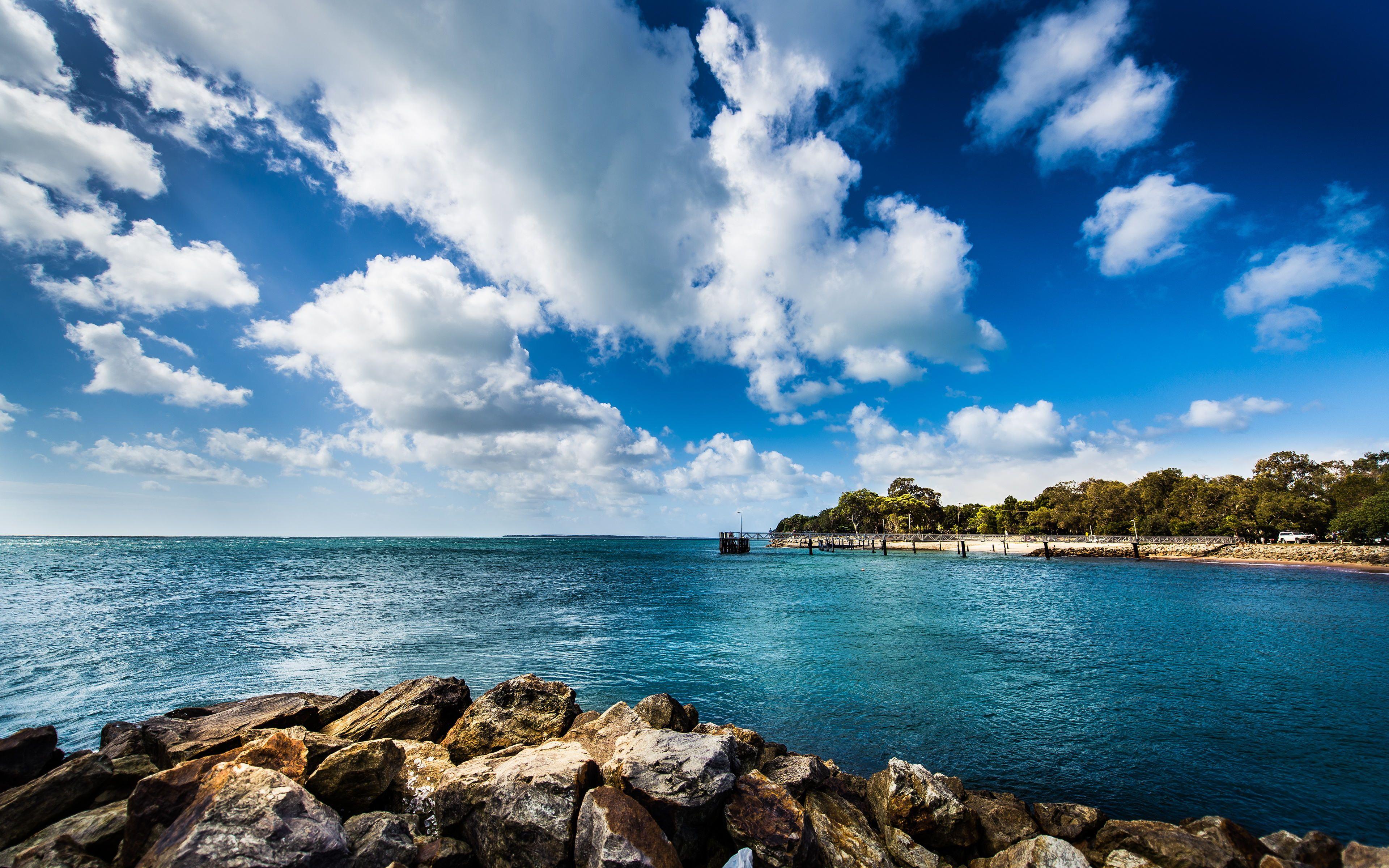 中国最美景色4k超清电脑桌面壁纸 一 风景壁纸 壁纸下载 美桌网 Ocean Wallpaper Ocean Landscape Hd Landscape