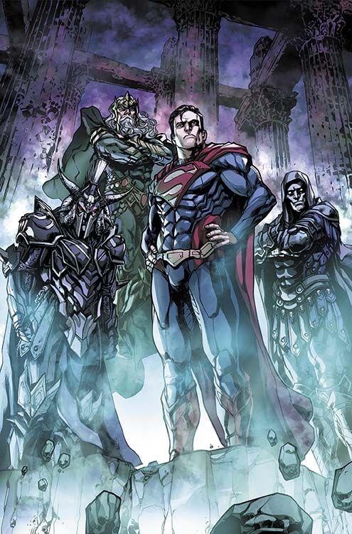 Superman Fan Art Injustice Gods Among Us Year Four 8 Cover