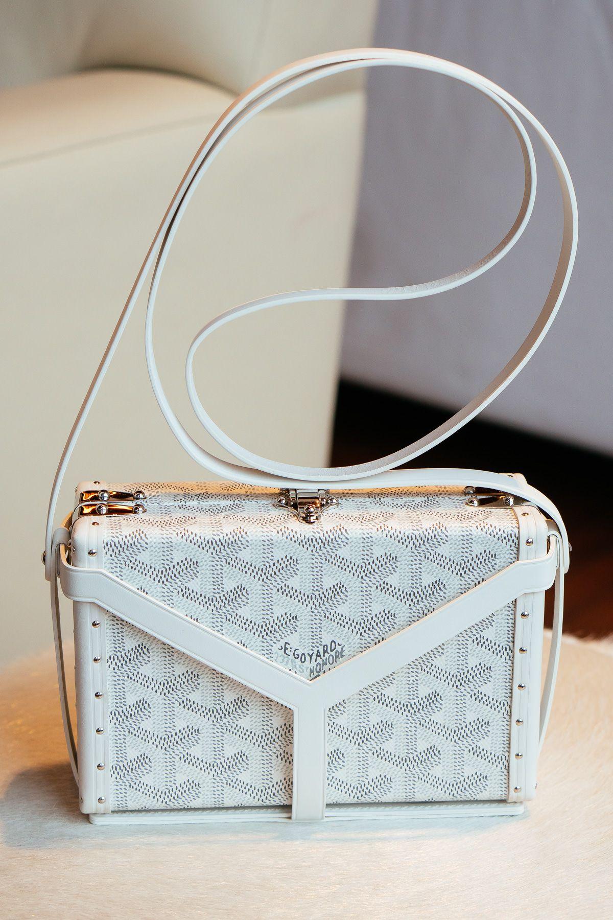 A Close Look At The New Goyard Minaudiere Purseblog Goyard Bag Purses And Bags Purses And Handbags